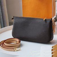 Сумки женские сумки Оригинальная коробка Дата Код сумки сумки кошельки сцепления плечо мешок мешок крест тело 40712