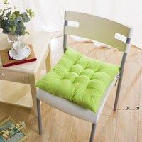 40 * 40 cm Indoor Outdoor Garten Kissen Kissen Patio Home Küche Büro Auto Sofa Stuhl Sitz Weiche Kissen Pad FWE5037