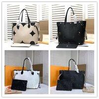 Designer Luxury MM Tote Bag M44716 MM Shoulder Hand Tote Bag Jungle White shoulder bag White Size:32*29*17CM