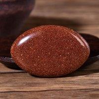Kırmızı Goldstone Palmiye Taş Kuvars Şifa Kristal Masaj Aksesuarları Meditasyon