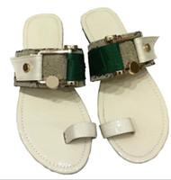 새로운 디자이너 남자 여성 샌들 신발 슬리퍼 진주 뱀 인쇄 슬라이드 여름 로퍼 플랫 숙녀 샌들 고무 플립 플롭 슬리퍼