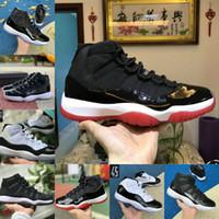 2021 بيع جديد bred 11 ثانية 11 الرجال النساء أحذية كرة السلة المربى الفضعة الفوز مثل كونكورد 45 كاب و ثوب اليوبيل مصمم الأحذية الرياضية المدربين BG1246