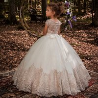 2021 Formal Kids Clothes For Girls Children Retro Lace Princess Dress Girl Party And Wedding Costume Vestidos