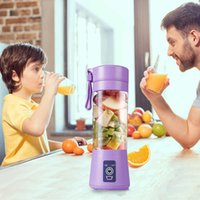 Electric Juicer Blender USB Portable Personal Blenders With Travel Cup 380ML Rechargeable Juicers Bottle Fruit Vegetable Kitchen Tool WY1365