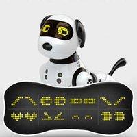 2020 جديد التحكم عن روبوت الكلب الذكية الرقص اللاسلكي روبوت الكلب البسيطة كلب التفاعلية دمية أفضل هدية عيد