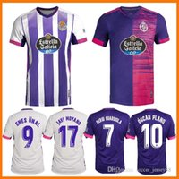 2021 Real Valladolid Futebol Jerseys 20 21 Fede S. R. Alcaraz Sergi Guardiola ÓScar Plano Maillots Camiseta Camisa de Futebol Men Kids Football Shirts