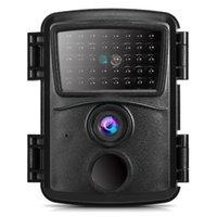 미니 트레일 카메라 12MP 1080P 사냥 게임 모션 활성화 된 야외 야생 동물 스카우트 카메라 IP54 방수 농장 보안