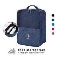 Waterproof Bag Pouch Storage Travel Bag Portable Shoes Organizer Sorting Pouch Zip Lock Home Storage Trousse De Toilette 211014
