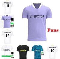 21 22 Leeds Jerseys de futebol Bamford Klich United 2021 2022 Alioski Phillips Hernandez Llorente Rodrigo M Camisa de Football Men Kid Kids Kit