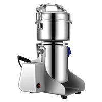 300g Electric Coffee Grinder Machine Korn kryddor Mill Medicin Vete mjöl Blandare torr mat LCD 210712