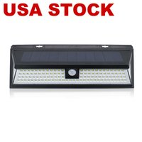 Outdoor Solar Lamps, 118 LED Motion Sensor Wall Street Lights IP65 Waterproof 270°, Wide Illumination Angle Easy Install Security Light for Driveway, Front Door, Yard