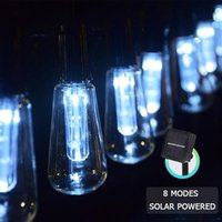 Solar Lamps Led Light Outdoor String Lights Garden Decoration Wedding IP65 Waterproof Fairy
