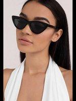 Xone mulheres gato olho óculos de sol ósseo quadro black vidro cor 2021 top moda acessório acessório estética parecer chique qualidade
