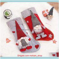 Decoration Event Festive Party Supplies & Gardenchristmas Stockings Sock Xmas Candy Gift Bag Swedish Gnome Santa Hanging Pendant Ornament Ho