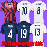 Erkekler Kadınlar + Çocuklar 2021 Amerika Birleşik Devletleri Futbol Formaları 21 22 Pulisic Yedlin Bradley Ulusal Takımı Ahşap Dempsey Altidore USMNT Futbol Gömlek