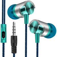 2021 High Quality 3,5mm Clinic In-ear Headphones Portable Low Noise Sport Headphones With Microphone For Huawei Samsung xia wholesale
