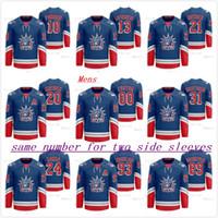 Personalice 13 Alexis Lafreniere NY Rangers 2021 Classic Edition Liberty Royal Jersey Artemi Panarin Kaapo Kakko Buchnevich Mika Zibanejad