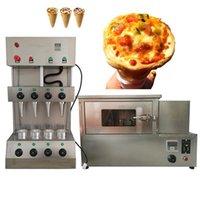 Полный набор коммерческих электрических мороженых конуса пиццы машина вращающаяся печь 620W витрина изоляции
