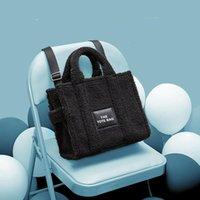 Evening Bags Autumn And Winter Women's Bag Quality Luxury Designer Brand Fashion Classic Lady Cashmere Tote Handbag Purses Handbags