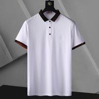 Yaz Açık Spor Eğlence Erkek Polos 10 Renkler Nakış Teknoloji Nefes Stil 100% Pamuk Rahat Erkekler Gömlek Toptan Boyutu M-XXXL