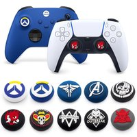 Soft Silicone Grip Cap case For Sony Playstation 5 PS5 PS4 PS3 PS2 xbox Controller Thumb sticks Joysticke Stick Cover
