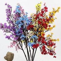 장식 꽃 화환 50cm 작은 숨 gypsophila 가짜 인공 벚꽃 DIY 결혼식 장식 꽃다발 가짜 지점