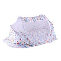 Zanzare da rete per bambini per bambini tenda per bambini culla letto letto baldacchino sul portatile