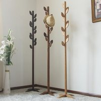 Hotsale Дуб Дерево Вешалка для гостиной Мебель, Деревянные Дерево Вешалка Спальня Вешалки Вешалка для одежды Внутренняя Вешалка