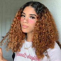 1b 30 Lace Front Wig Ombre Human Hair Wigs For Black Women V Part Lace Body Wave Pre Plucked Bleached Knots Wigs