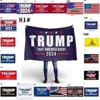 20 дизайнов Дональд Трамп Флаги 3x5 FT 2024 Re-Rebal Возьмите Америку Назад Флаг с Латунными Втулка Патриотическое Открытое Открытое Открытое Знамя для внутреннего Отражателя