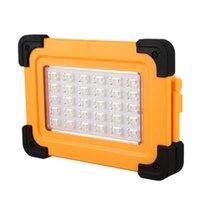 فوانيس المحمولة 50 واط أضواء بقية أدى ضوء العمل USB قابلة للشحن حديقة مصباح الشمسية للخارجية التخييم لامب