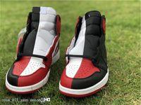 Nrg ar9880-023 para high home hottest Basketball homenagem 1 og mulheres vermelho-branco autêntico retrô preto / universidade homens chi sapatos mprix
