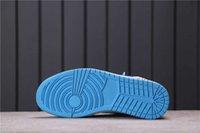 Jumpman Yüksek Kesim UNC Basketbol Ayakkabıları Off Union 1 Beyaz Kadın Erkek Moda Eğitmenler Luxurys Tasarımcı Sneakers Tam Boyutu 36-46 Kutusu Ile