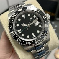 top luxury men watch automatic mechanical ceramic watchs ring stainless steel strap low-key leisure men's Watches