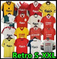 Liverpool LVP Dalglish McManaman Rush Retro Jersey Gerrard 2005 Smicer Alonso 10 11 Camisas de Futebol Torres 82 89 91 Maillot 85 86 Kuyt Keane 08 09