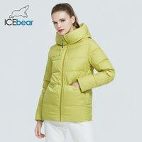 Icebear - женский капюшон ET, качественное повседневное пальто, толстая хлопковая ткань, ткань зимнего бренда, GWD20233i, новый в 2021 году