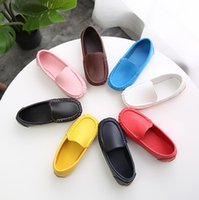 Boys Shoes Fashion Soft Flat Loafers For Toddler Boy Big Kids Sneakers Children Flats Breathable Moccasin Cut-outs New