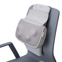 Shiatsu-Massagegerät-Rücken- und Nackenmassagekissen mit Wärme, Opillow-Tieftgewebe-Knetmassagen für Unter- und Oberrücken, Schultern, Waden - Massager für Stuhlbüro