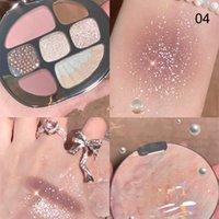 Eye Shadow 8 Colori Amber Eyeshadow Palette opaco scintillante naturalmente lunga durata senza macchia sana889