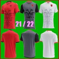 حجم S-XXL 2021 ألبانيا المنتخب الوطني لكرة القدم الفانيلة 21 22 المنزل بعيدا ثالث الرجال قمصان كرة القدم
