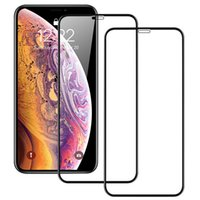 Full Cover Glass For iPhone 11 13 Pro XS Max X XR 12 mini Screen Protector Apple 8 7 6 6S Plus Tempered Glasses Film Case