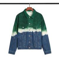 EneroSnow Hombres Hip Hop Jacket Creavientos Streetwear Retro Harajuku Gradient Bloque de Color Chaqueta Abrigo 2019 Pocket Zip Track Jacket Hoodie
