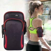 "Spor koşu kol kılıf iphone 11 pro max, xiaomi, huawei, Samsung S20, P30, 6.5 ""7,2"" Airpods için spor salonu kol bandı"