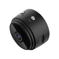 Vision Night Vision de alta definição sem fio Home Wi-Fi Security Câmera magnética A9