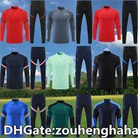 Aldult Espanha Tracksuit Jacket Futebol Hommes Futebol Sobrevetimento Sportswear Homens Jogging Training Suit