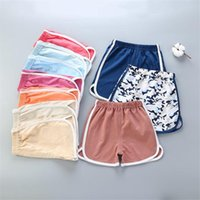 Shorts 1-5Y Baby Kids For Boys Girls Clothes Summer 2021 Children's Cotton Pant Trousers