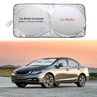 Car Sunshade Windshield Sun Shade Visor Cover For Tribute Miata CX3 CX5 CX9 2 3 6 Series Anti-UV Front Window Sunlight Blind Block
