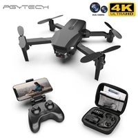 PGY New R16 Drone 4K HD Dual Lens Mini Drone Wifi 1080P Trasmissione in tempo reale TRASMISSIONE FPV Drone Seguimi Pieghevole RC Quadcopter Toy