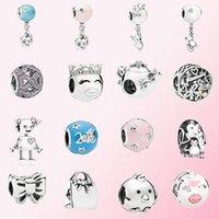2020 Fahmi Popularne 925 Silver Penguin Family Park Exclusive Bella Bot Charm Fit Diy Bransoletka Oryginalna Biżuteria dla kobiet