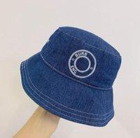 Bucket Hats Baseball Caps Beanie Baseball Cap for Men Women Summer Wide Brim Hat with Letter Word Printing Season Match High Quality Pure Cotton Flat Fisherman Sunhat